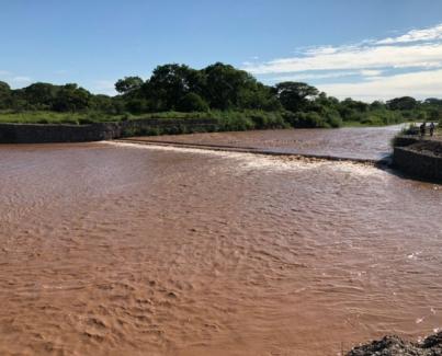 Finalización de obras en el dique La Higuera y en el Canal Matriz de La Aguadita