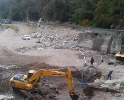 Retomaron las actividades de construcción del Dique San Ignacio