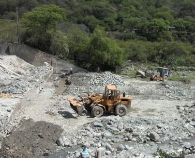 Inicio de mantenimientos del dique La Higuera