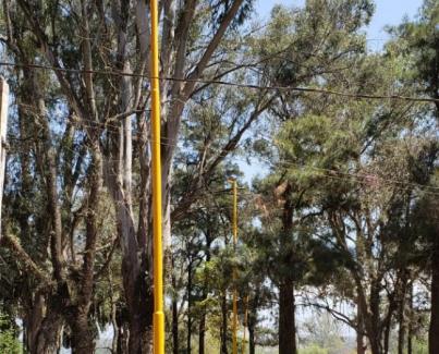 Tareas de mejoramiento en La Aguadita