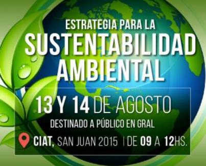 Jornada de Estrategias para la sustentabilidad ambiental