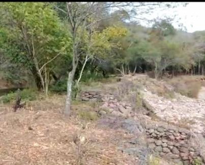 LA DIRECCION DE RECURSOS HIDRICOS se encuentra realizando un trabajo de canalización del río salí y defensa de la margen derecha