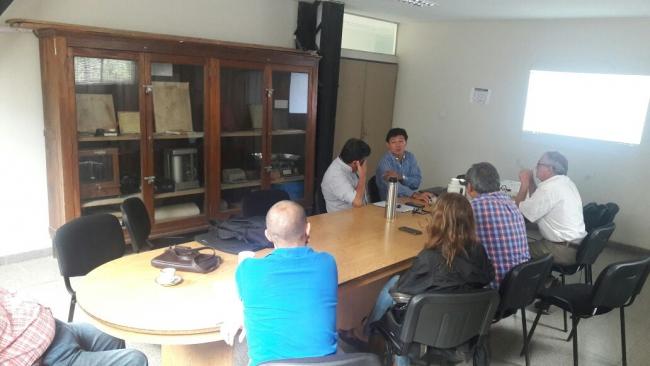 Visita de los Ingenieros Claudio Bravo y Marcelo Arzelan