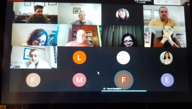Reunión virtual de la Comisión de Ordenamiento Territorial de la Provincia