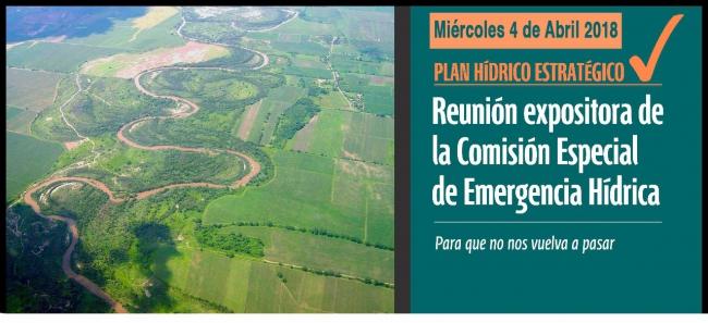 Reunión expositora de la Comisión Especial de Emergencia Hídrica
